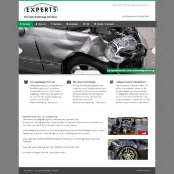 KFZ-Sachverständige Webseite