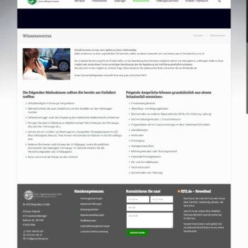KFZ-Ingenieurbüro Webseite
