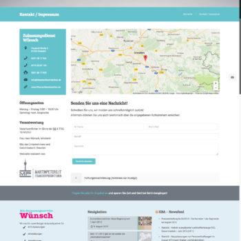 KFZ-Zulassungsservice Webseite